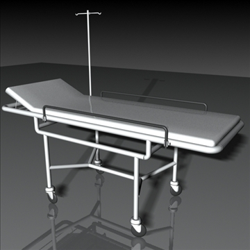 stretcher 3d model 3ds max obj 108999