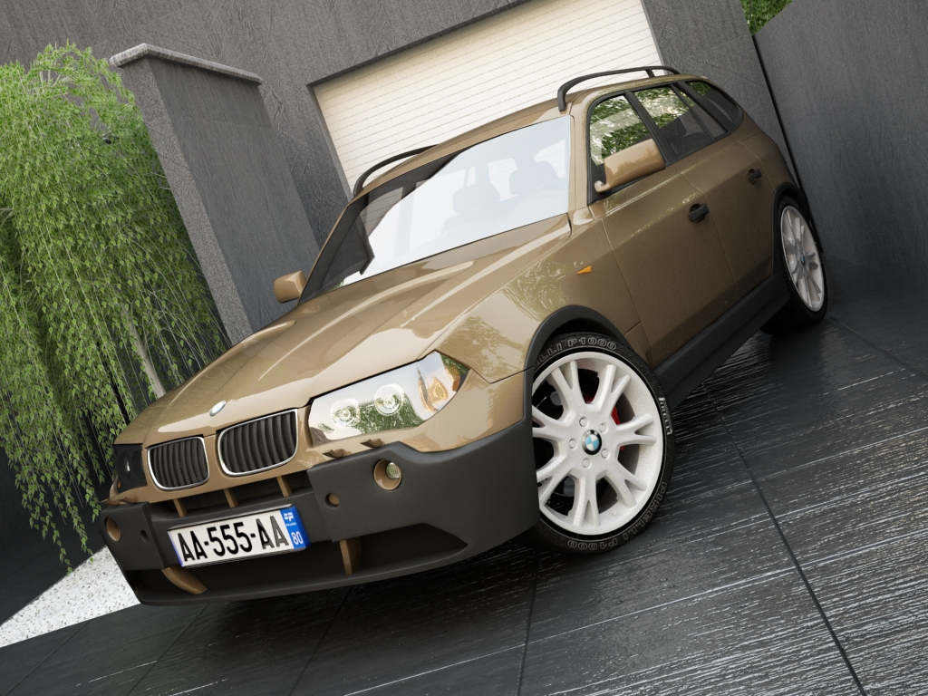 bmw x3 3d model 3ds max texture yang lain 119575