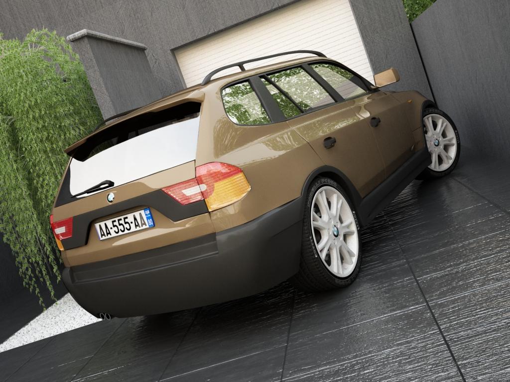 bmw x3 3d model 3ds max other texture obj 119576