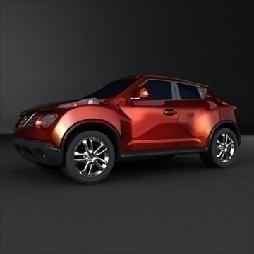 nissan crossover 3d max max 105110