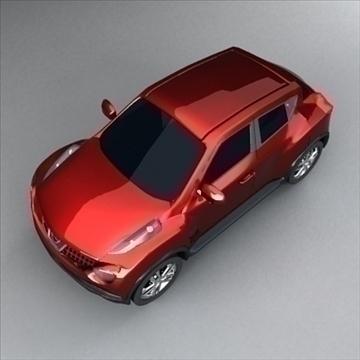 nissan crossover 3d model max 105114