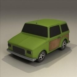 toy 4x4 ( 53.48KB jpg by 3DGL )