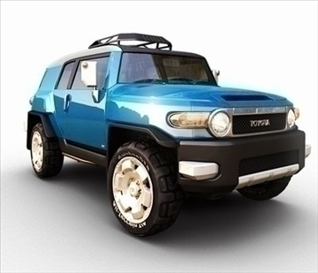 toyota_fj_cruiser 3d model ma mb 84969