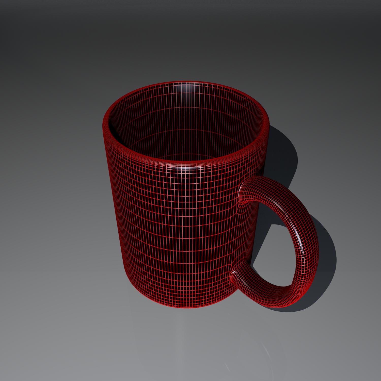 cup pack 3d model blend obj 116263