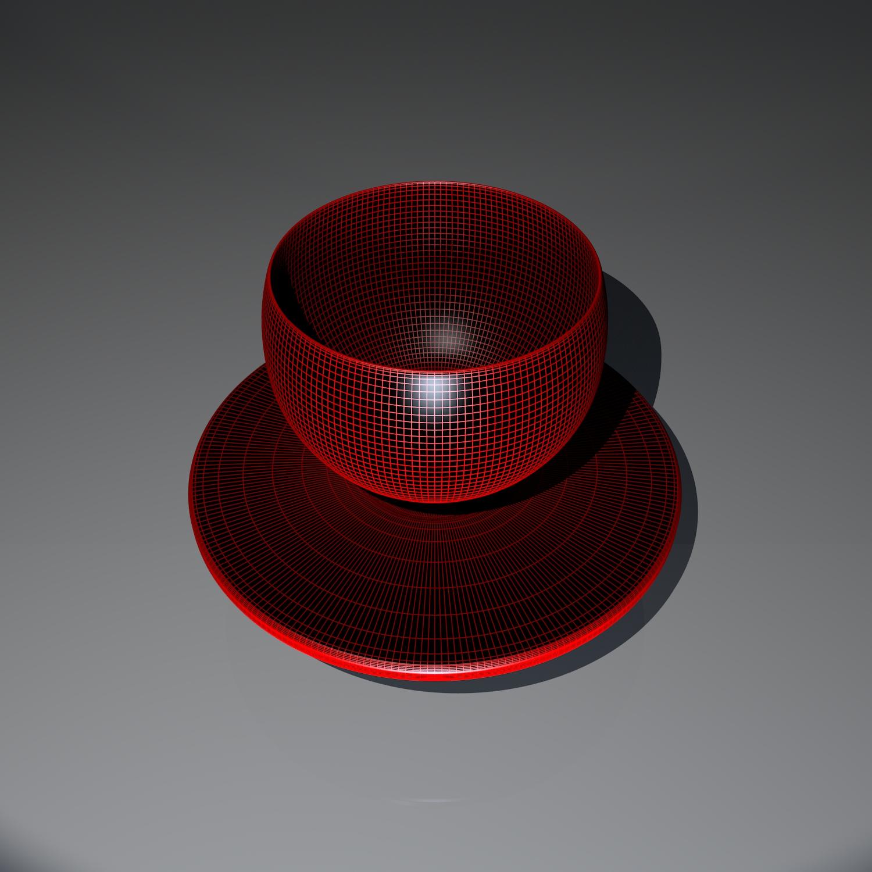cup pack 3d model blend obj 116264