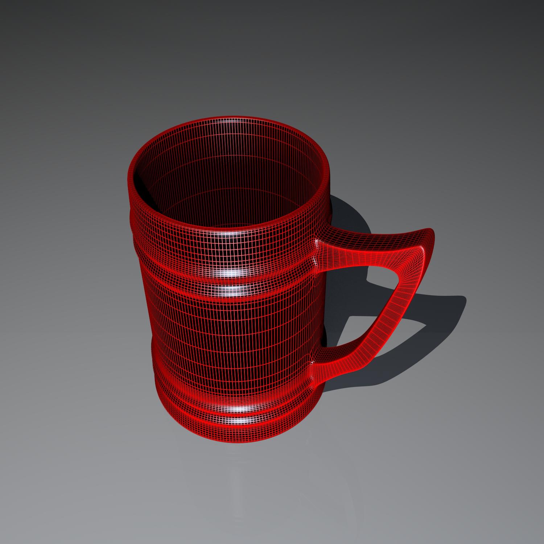 cup pack 3d model blend obj 116265
