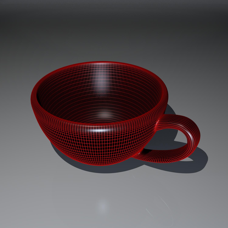 cup pack 3d model blend obj 116266