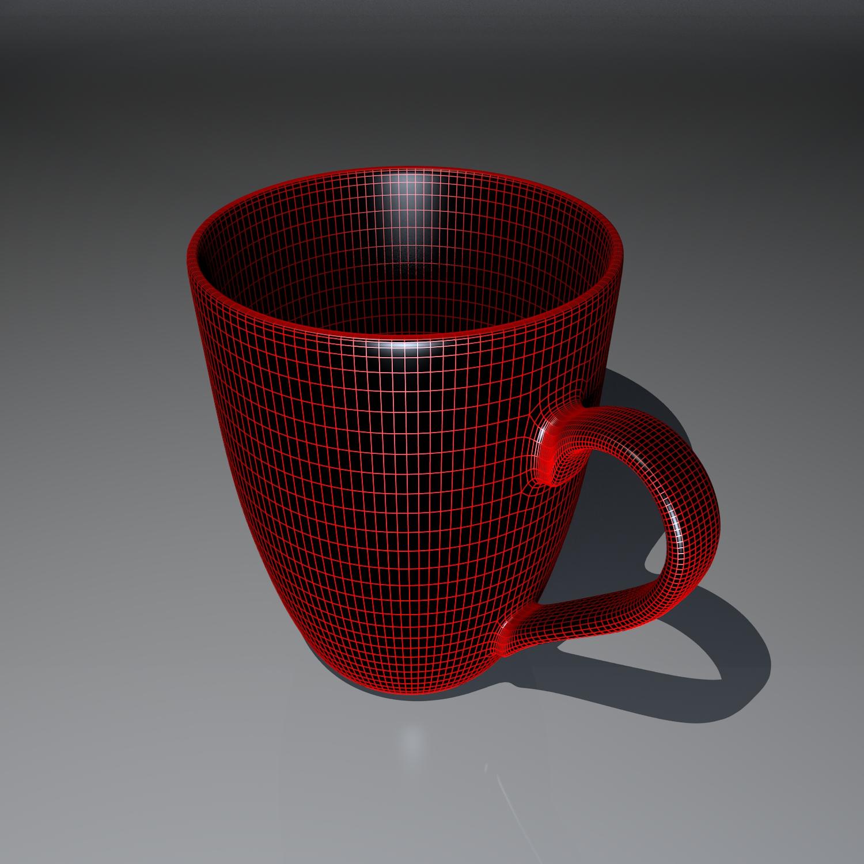 cup pack 3d model blend obj 116267