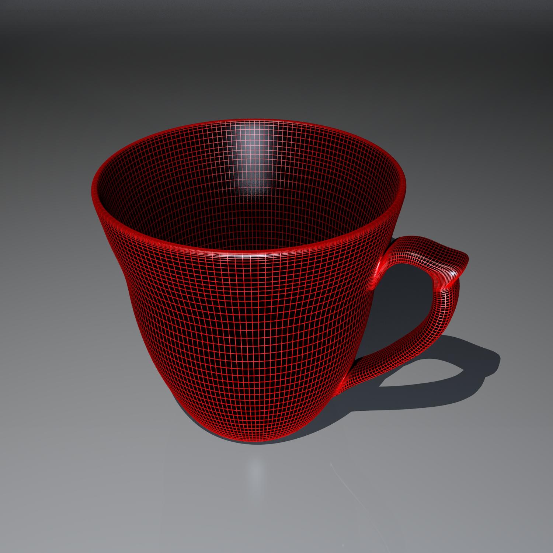 cup pack 3d model blend obj 116268