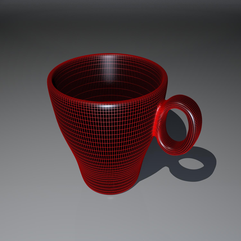 cup pack 3d model blend obj 116269