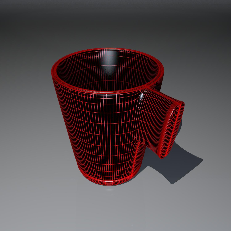 cup pack 3d model blend obj 116270