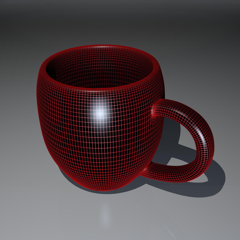 cup pack 3d model blend obj 116271