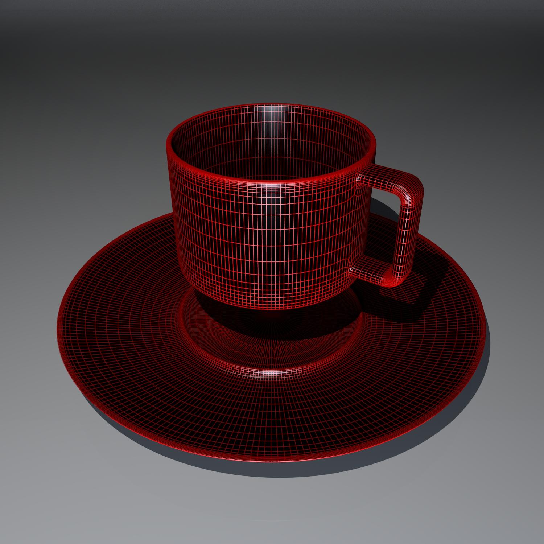cup pack 3d model blend obj 116272