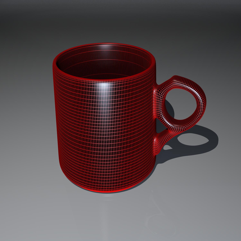 cup pack 3d model blend obj 116273