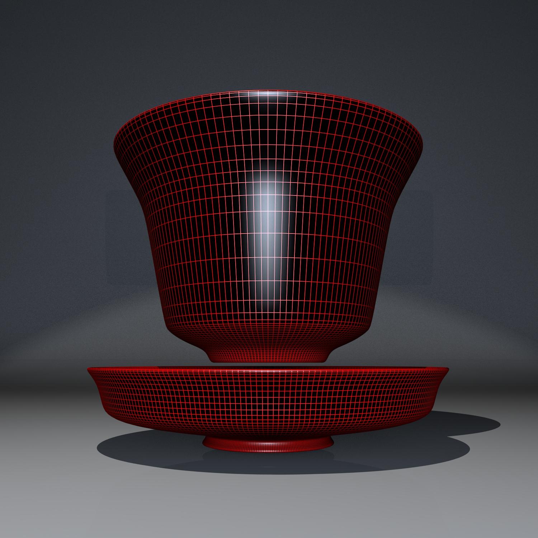 cup pack 3d model blend obj 116274