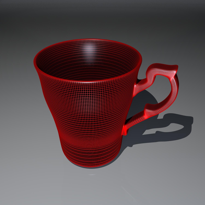 cup pack 3d model blend obj 116275
