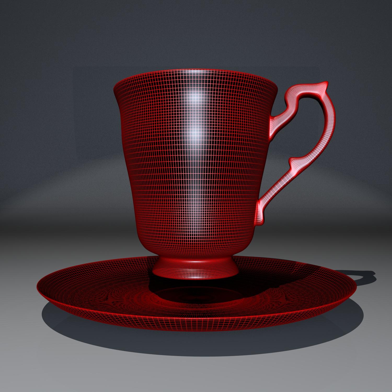 cup pack 3d model blend obj 116276