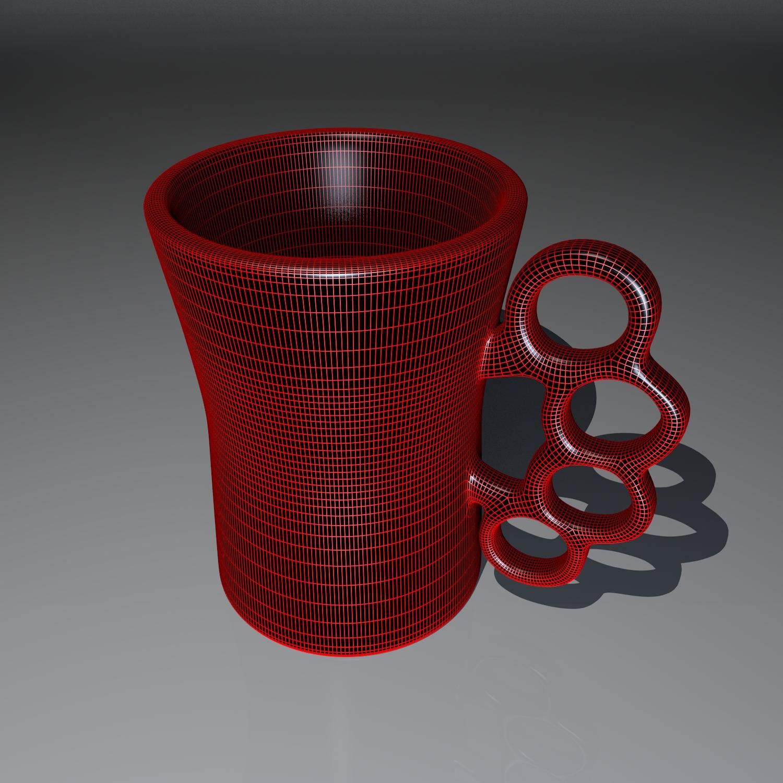 cup pack 3d model blend obj 116277
