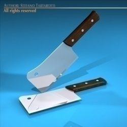 Meat cleaver ( 58.66KB jpg by tartino )