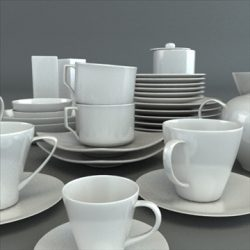 Porcelain Tableware Set ( 79.88KB jpg by robkius )