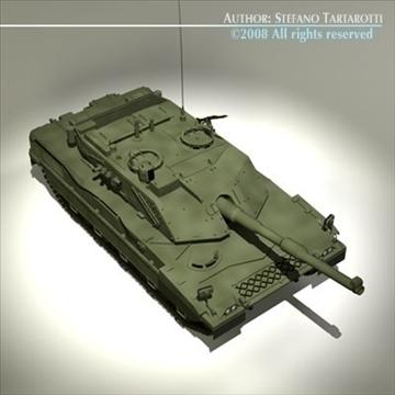 ariete tank 3d model 3ds dxf c4d obj 91518