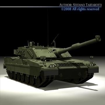 ariete tank 3d model 3ds dxf c4d obj 91523