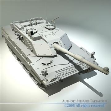 ariete tank 3d model 3ds dxf c4d obj 91525