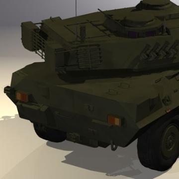 centauro b1 tankur Destroyer 3d líkan 3ds max c4d obj 77979