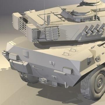 centauro b1 tankur Destroyer 3d líkan 3ds max c4d obj 77980