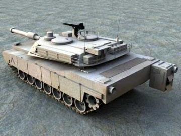 M1a2 abrams 3d model 3ds lwo 77928