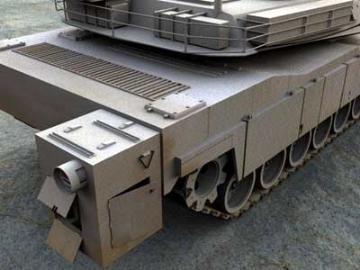 M1a2 abrams 3d model 3ds lwo 77930