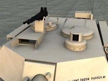 M1a2 abrams 3d model 3ds lwo 77932
