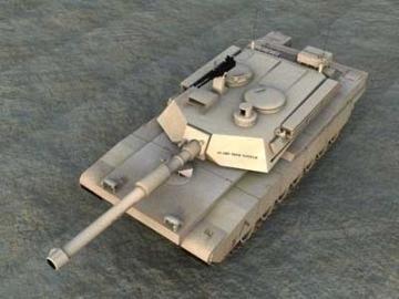M1a2 abrams 3d model 3ds lwo 77933