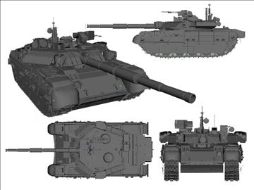 mbt 84 2 russian tank 3d model ma mb 102216