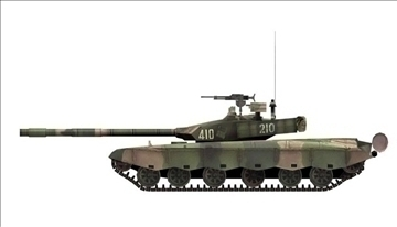 chinese type main battle tank 99 3d model ma mb obj 85110