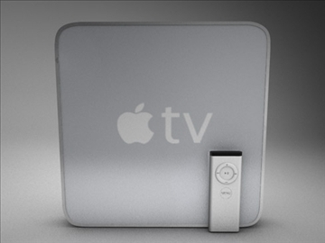 Apple TV 3d model 3ds dxf fbx c4d x obj 84672