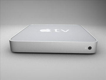 apple tv 3d model 3ds dxf fbx c4d x obj 84673