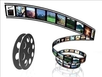 film roll 3d model max 107742