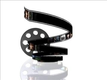 film roll 3d model max 107743
