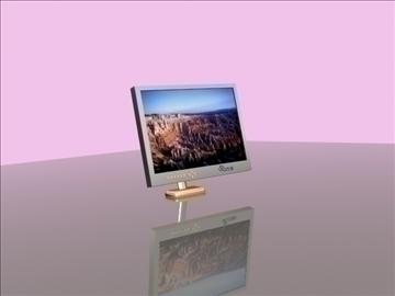 lcd monitor 3d model max 92680