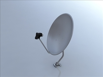 antena satelitarna model 3d 3ds max 105879