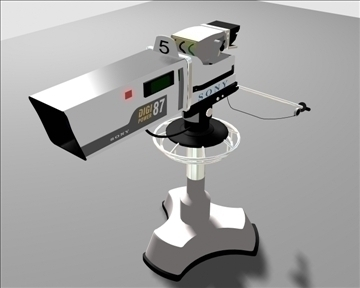 studio camera tv 3d model 3ds max 108631