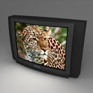 tv 2 3d model 3ds max dxf dwg fbx bmp obj lain 110897
