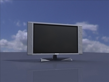 tv 3d model ma mb obj 82898