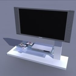 tv bench ( 41.36KB jpg by ivan3dbinary )