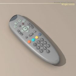 TV Remote Control ( 42.4KB jpg by tartino )