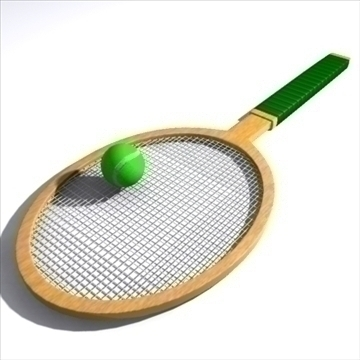 model 3d tenis 92355