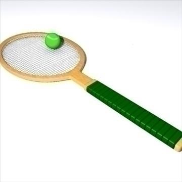 tennis 3d líkan max 92356