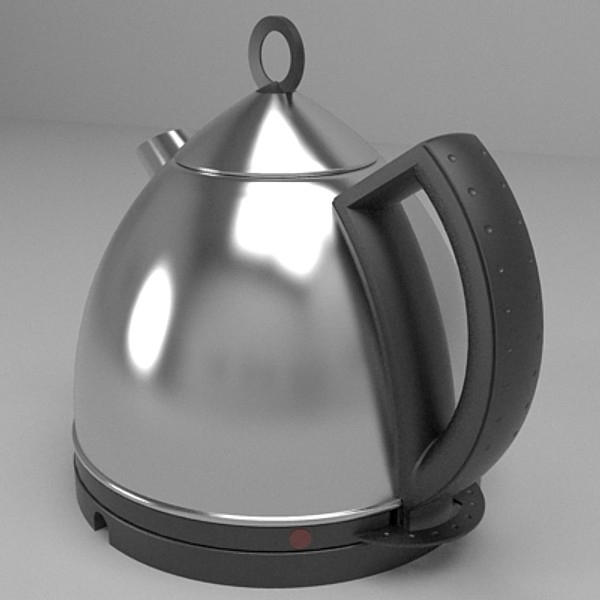 kettle & toaster set 3d 3ds fbx skp obj 115146