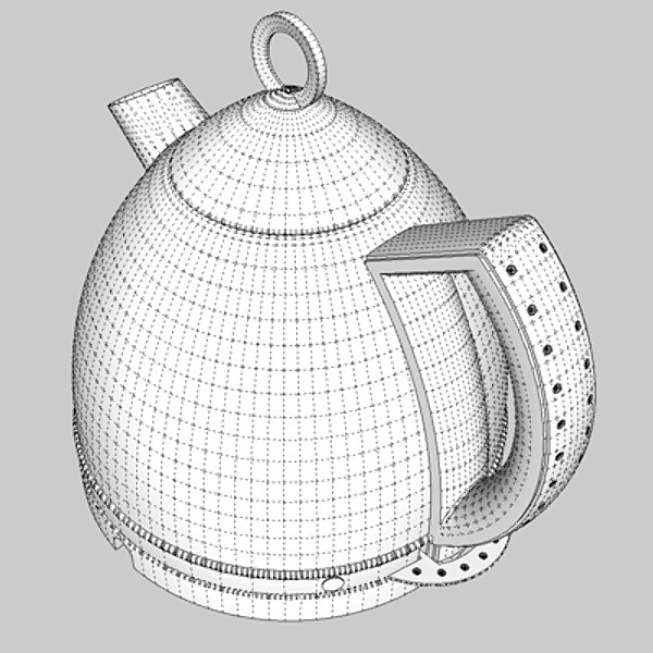 kettle & toaster set 3d 3ds fbx skp obj 115153